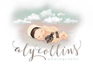 Aly Collins Photography – Salt Lake Newborn and Infant Photographer logo